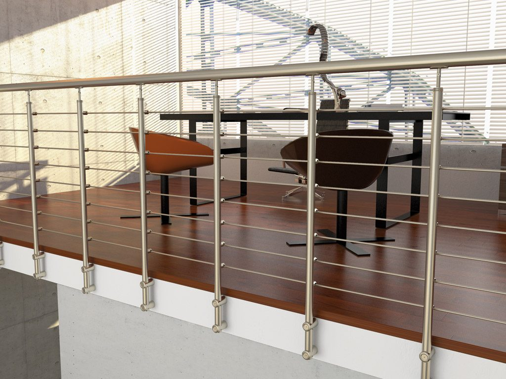 stainless steel railing rintal tube 33. Black Bedroom Furniture Sets. Home Design Ideas