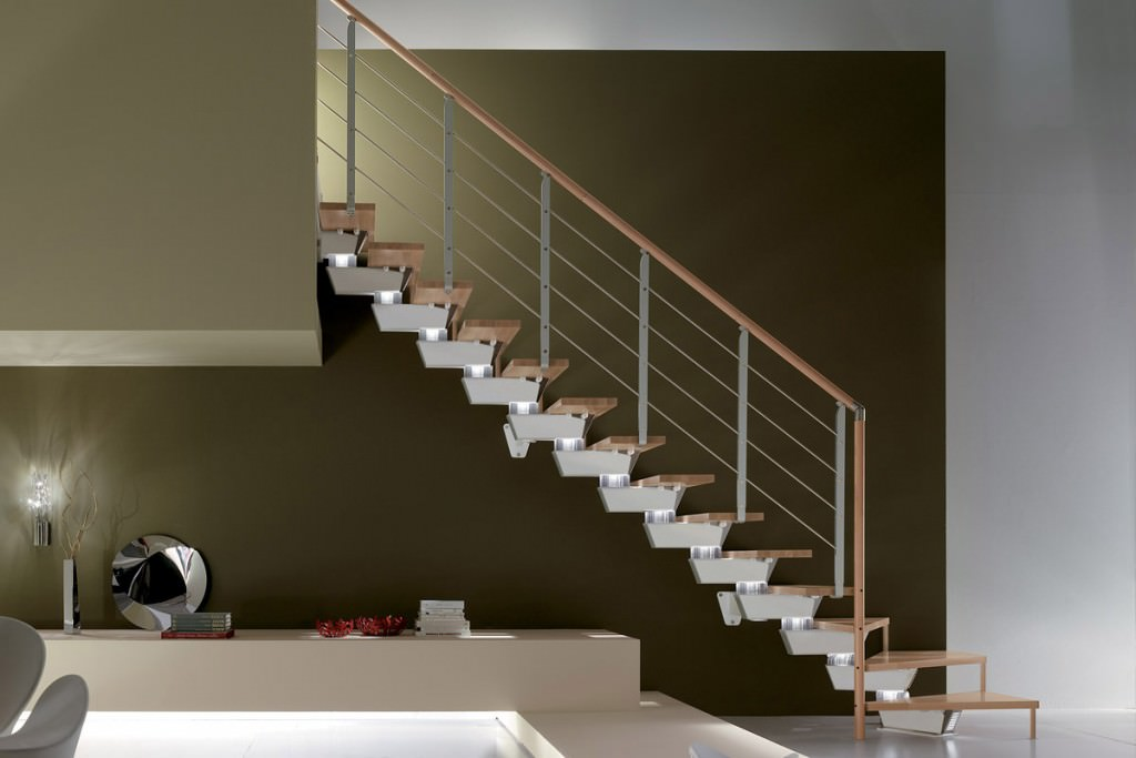 Open staircases - Knock Design - RINTAL