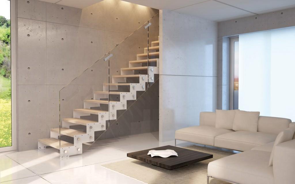 Steel staircase  Rintal - Daisy